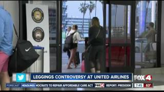 Leggings Controversy on United Airlines