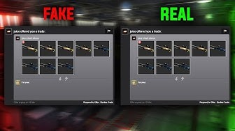 """FAKE TRADE OFFER SCAM"" (BRAND NEW CS:GO SCAM)"