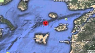 M 6.9 EARTHQUAKE - AEGEAN SEA - May 24, 2014