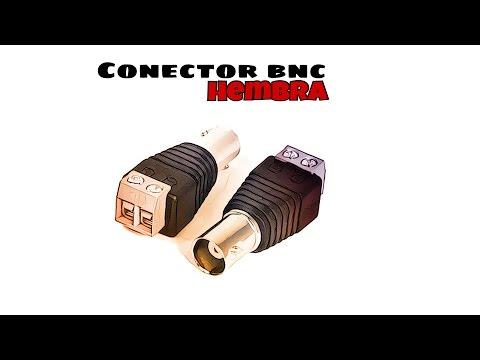Video de Conector BNC hembra  Negro