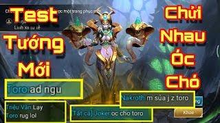 [Gcaothu] Test tướng Marja gặp đội hình chửi nhau óc chó rank cao thủ và màn lật kèo khó tin