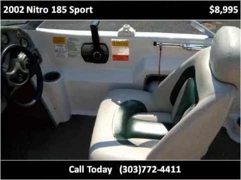 Used Cars Longmont >> 2002 Nitro 185 Sport Used Cars Longmont CO - YouTube