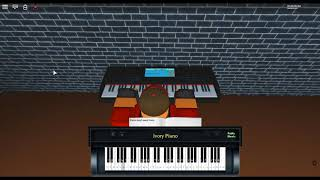 Nyan Cat on a ROBLOX piano. [I did this horribly. My fingers hurt.]