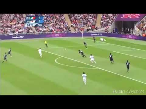 Gol de Oribe peralta,  México vs Japón (Londres 2012)