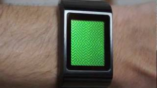 Kisai Optical Illusion Touch Screen LCD Watch Design From Tokyoflash Japan