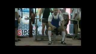 bench press 187,5 kg @75 Arkadiy Shalokha