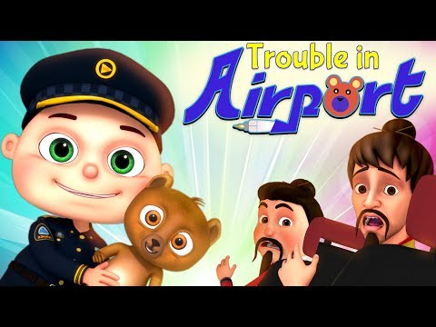 Zool Babies Series - Trouble In Airport | Cartoon Animation For Children | Videogyan Kids Shows