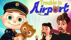Zool Babies Series - Trouble In Airport   Cartoon Animation For Children   Videogyan Kids Shows