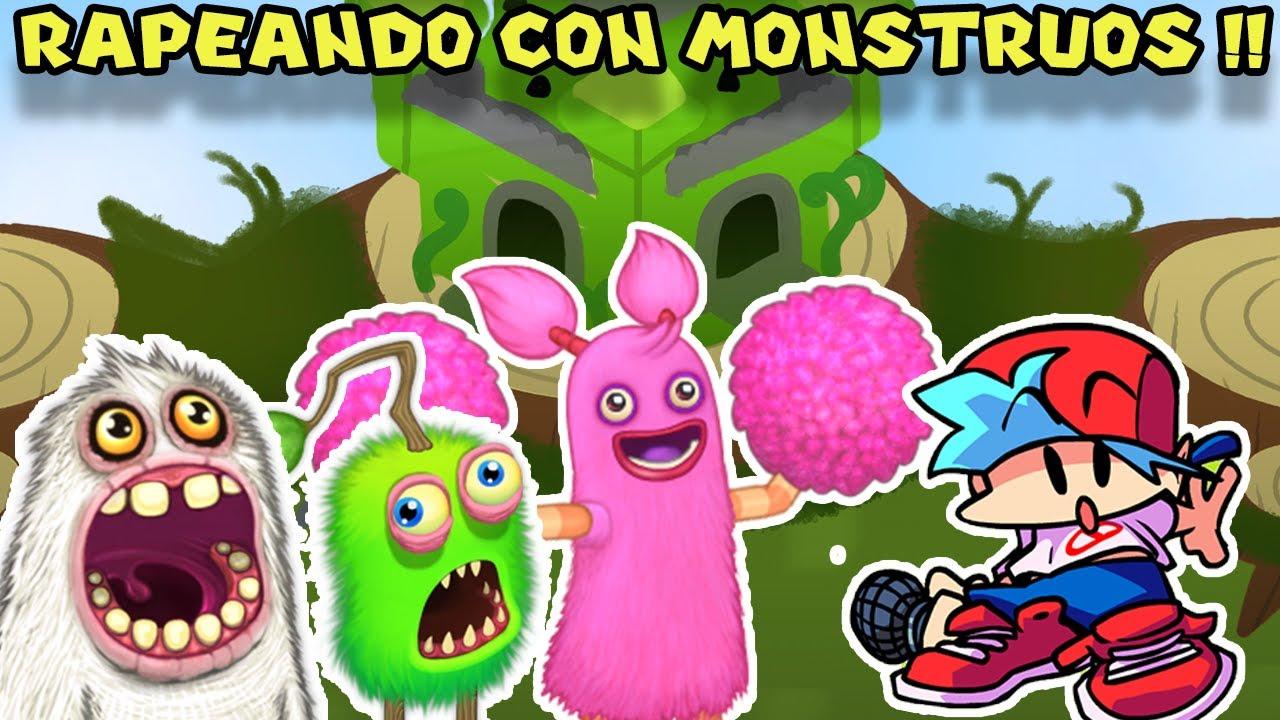 RAPEANDO CON MONSTRUOS !! - Friday Night Funkin con Pepe el Mago (#46)
