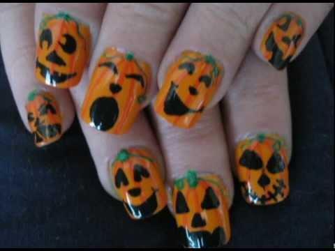 pumpkin fingers- simple and cute