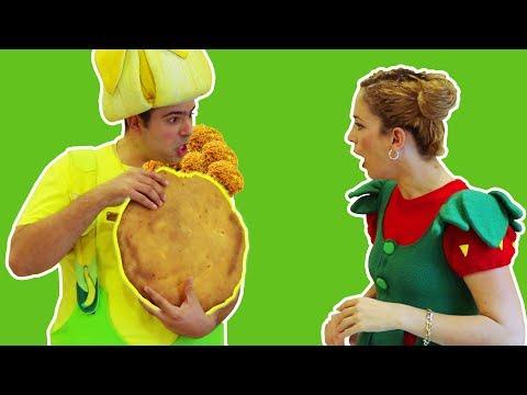 فوزي موزي وتوتي – الرغيف عليكو والفلافل علينا – Huge Falafel bread