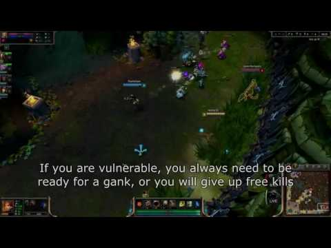 2K lol lol lol     How to Avoid Baits When Being Ganked  Reading Body Language   League of Legends L