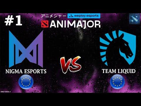 ЕВРОПЕЙСКИЕ БАТАЛИИ! Nigma vs Liquid #1 (BO2) WePlay AniMajor