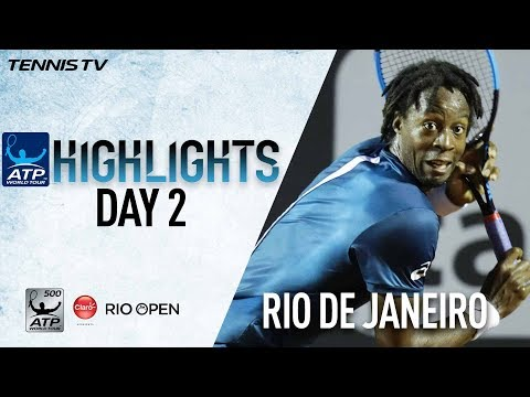 Watch Highlights: Monfils Moves Into Second Round In Rio