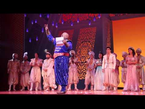 Broadway's Cast of ALADDIN Pays Tribute to Robin Williams