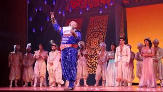 broadways cast of aladdin pays tribute to robin williams
