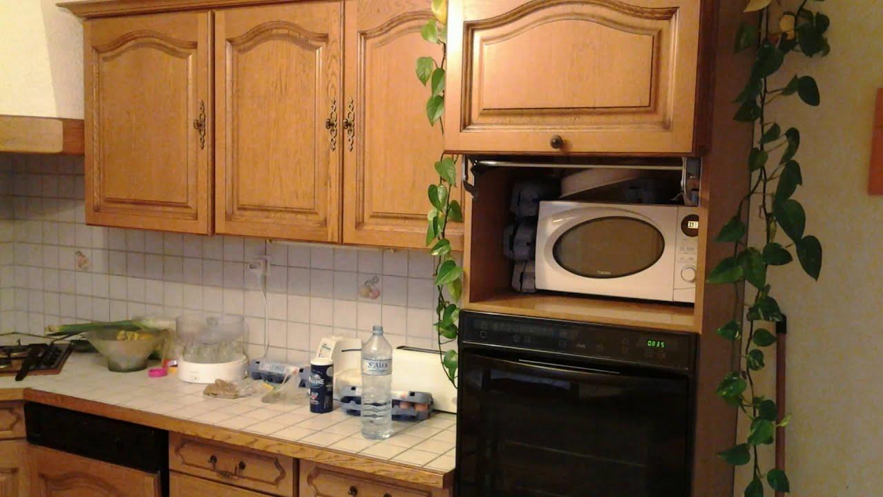 Repeindre meuble de cuisine youtube - Repeindre meuble de cuisine sans poncer ...