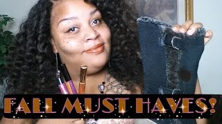 FALL MUST HAVES COLAB WITH SIMPLEEJESSICA R.