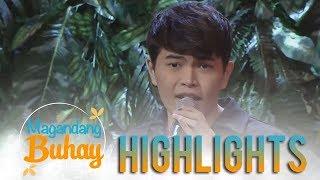 magandang buhay daryl ong gives a heartfelt rendition of stay