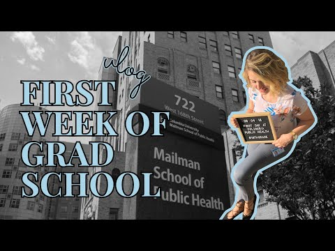 VLOG | First Week of Grad School at Columbia