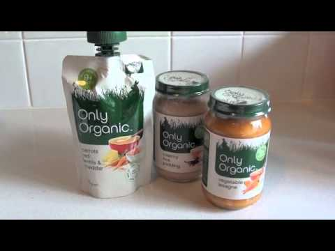 Brand Focus and Review - Only Organic Baby Food