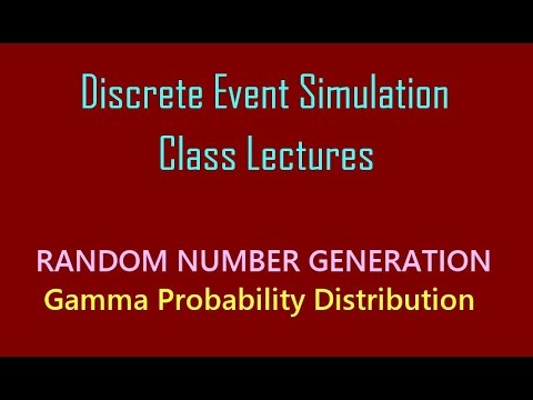 Random Number Generations from Gamma Distribution