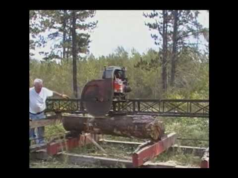 The Woodworking Plans Channel-Fire Up the Sawmill - YouTube