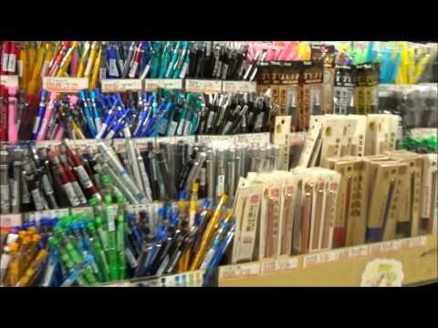 Sekaido Art Store in Shinjuku Tokyo The Biggest Art Supplies Store