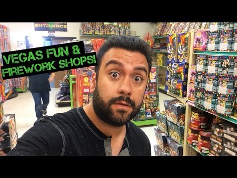 Vegas Fun & Firework Shops!