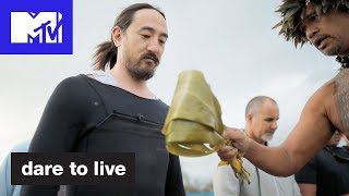'Steve Aoki & Rory Surf 25ft Waves' Official Sneak Peek | Dare To Live | MTV