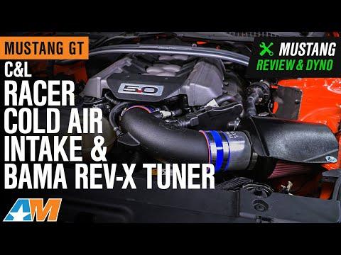 2015-2017 Mustang GT C&L Racer Cold Air Intake & Bama Rev-X Tuner Review & Dyno