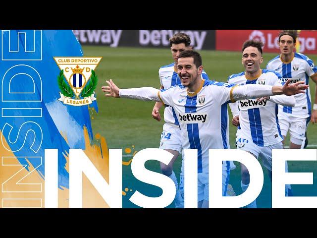 INSIDE | Quinta victoria consecutiva del Leganés que le hace colarse entre los mejores