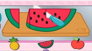 Fun Cooking Hello Kitty Lunchbox. Kids Learn to Prepare Food. Play Fun Kitchen Game for Toddlers