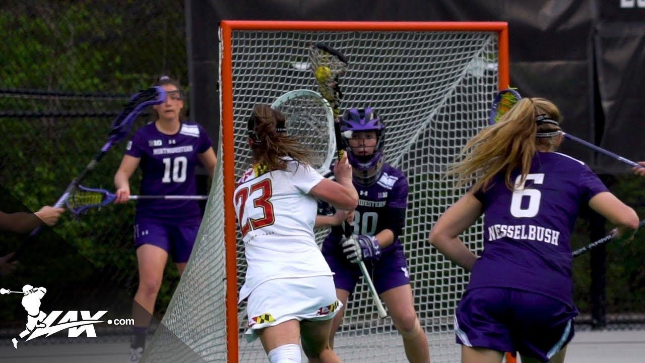 Northwestern vs Maryland | 2018 College Highlights