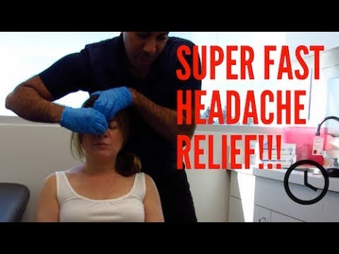 Tension Headache Relieved Before You Know It (REAL RESULTS!!)