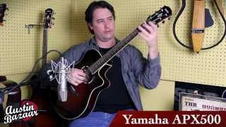 Yamaha APX500 Acoustic Electric Guitar Demo | Carl Tosten