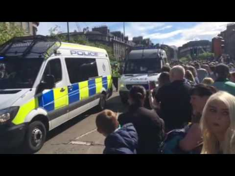 Hibs FC - Scottish Cup Victory Parade - Edinburgh