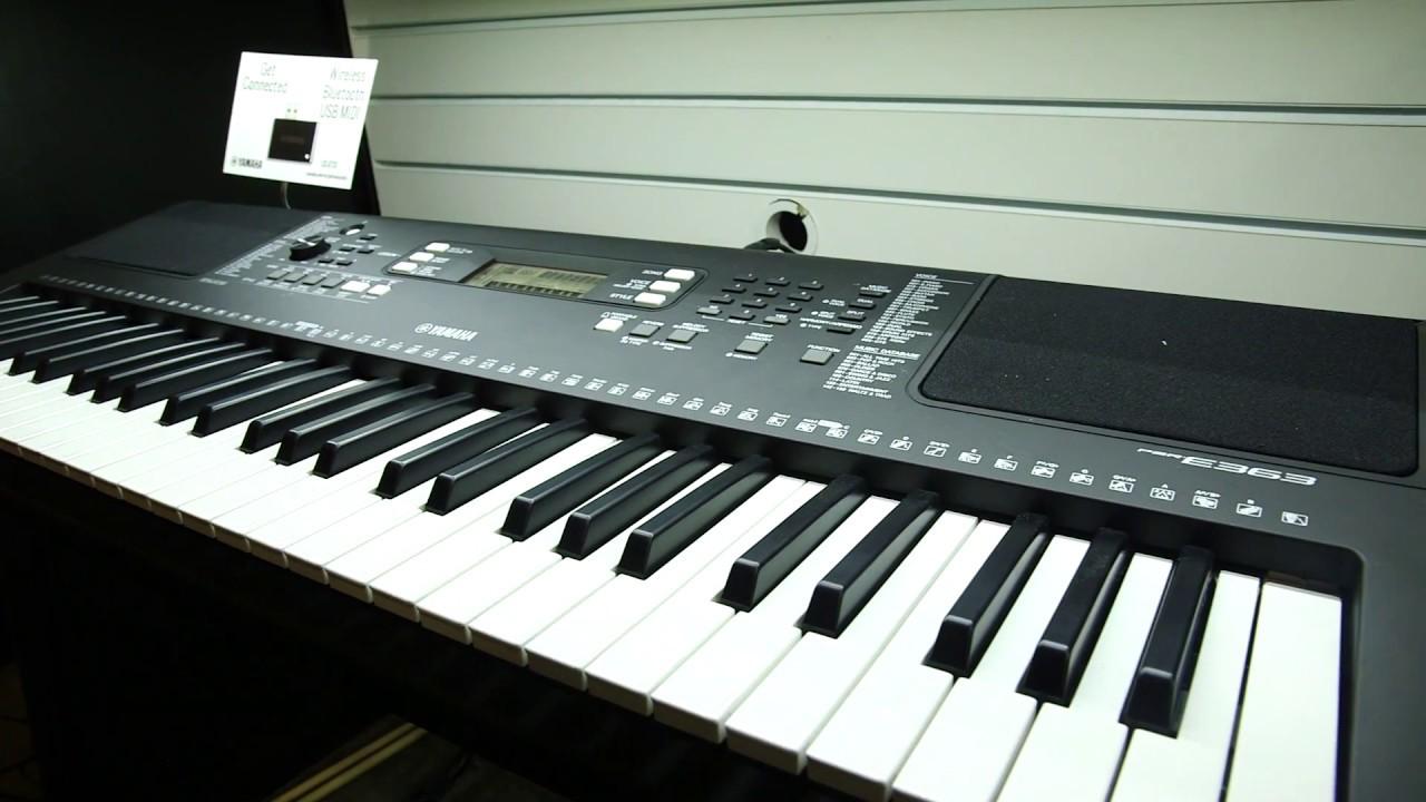 yamaha portable keyboards psre263 psr 363 psr ew400. Black Bedroom Furniture Sets. Home Design Ideas