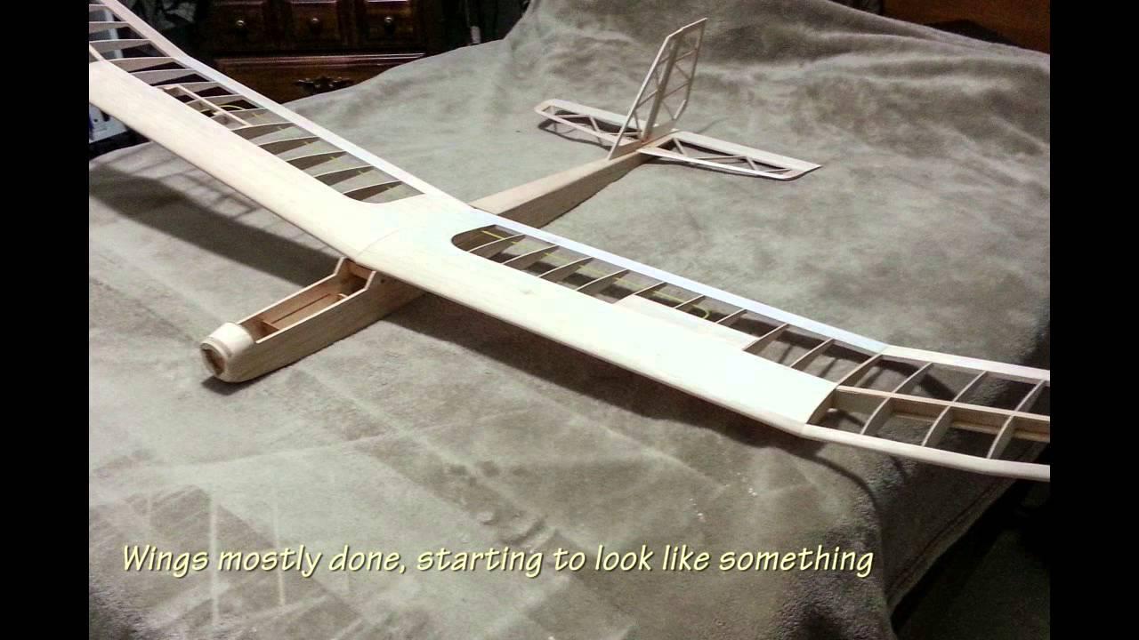 Great Planes Spectra glider build 2014 - part 1