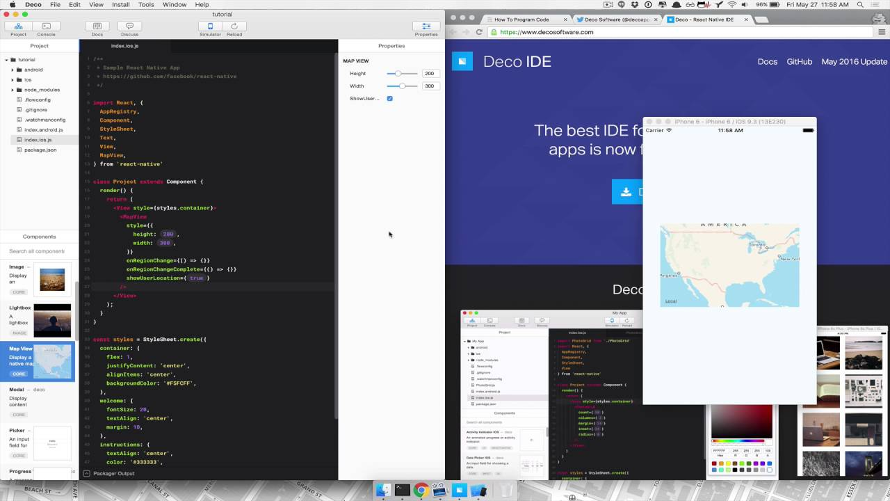 Deco IDE   React Native Review   YouTube