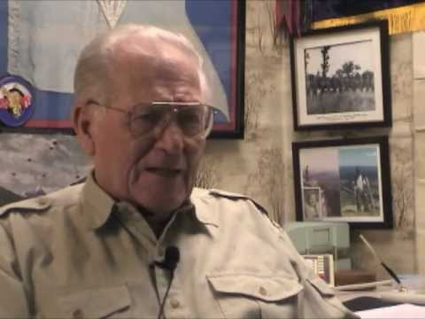 Major Dick Winters Interview (May 2003) - Part 1