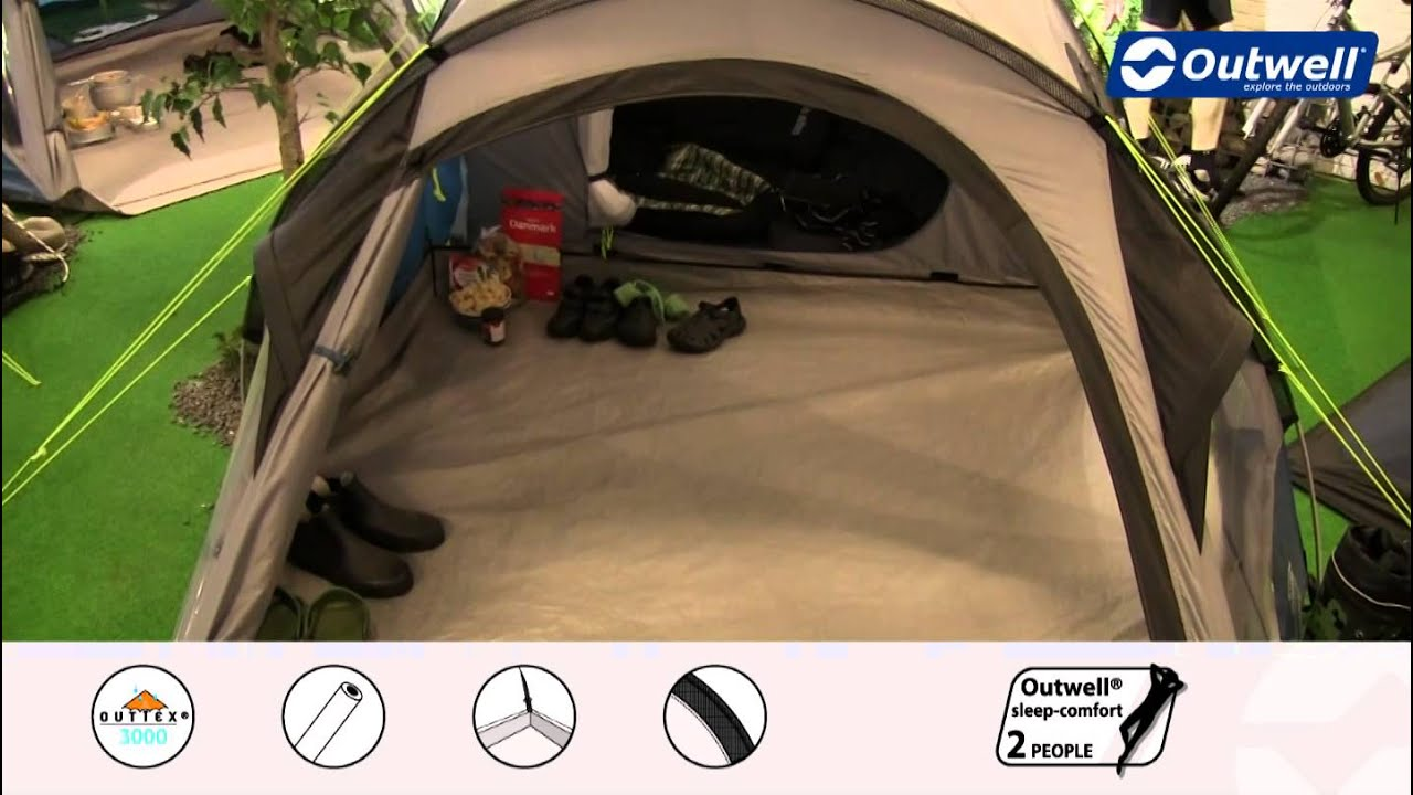 & Outwell Tent Earth 3 | Innovative Family Camping - YouTube