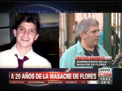 C5n Sociedad A 20 Años De La Masacre De Flores Youtube