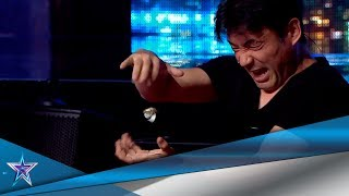 This AMAZING JAPONESE MAGICIAN Spreads Some Good Cheer! | Auditions 6 | Spain's Got Talent Season 5