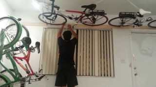 Wall ceiling bike rack under 50
