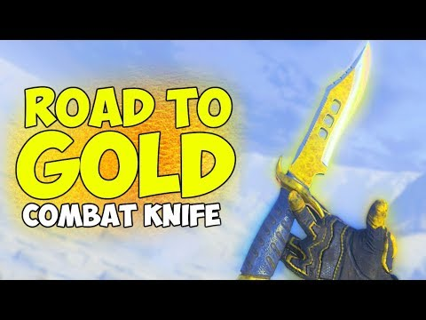 Black Ops 4: Road to Gold (Combat Knife)