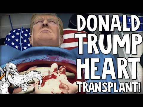 """SURGEON SIMULATOR: DONALD TRUMP HEART TRANSPLANT!!!  - SWAG (Some Weird Ass Games) 1080 HD Gameplay"