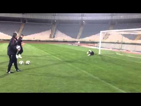 "Official training FC Bunyodkor at ""Azadi"" Stadium"