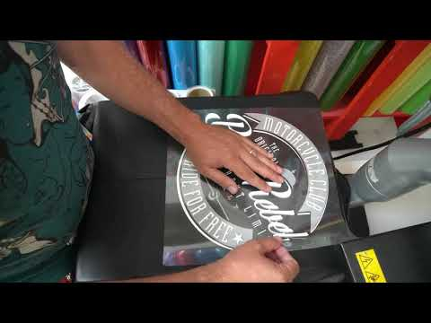 How To Apply P.S. Film Extra To A Motorcycle Jacket
