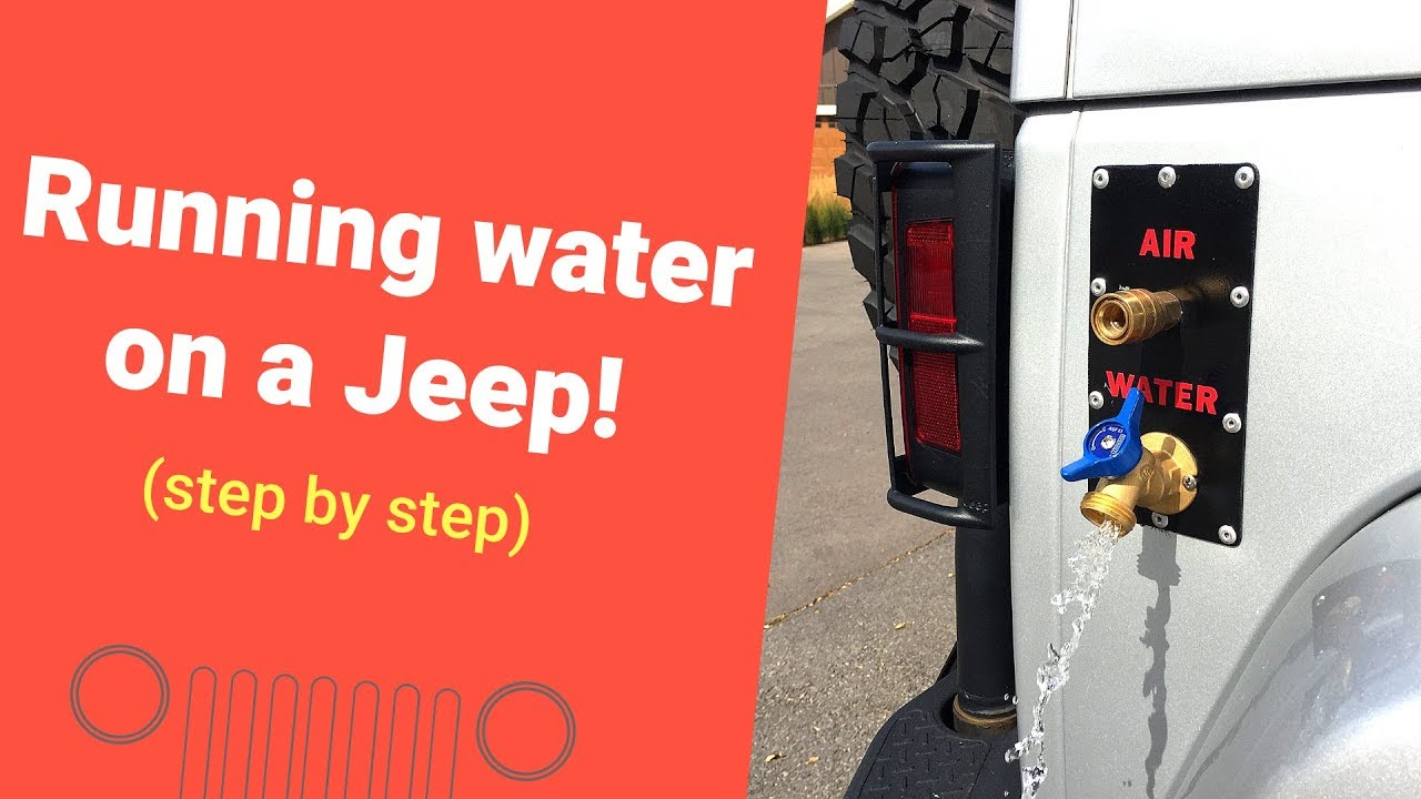 Ep1 running water and compressed air on jeep aev bumper and arb ep1 running water and compressed air on jeep aev bumper and arb dual compressor sciox Images